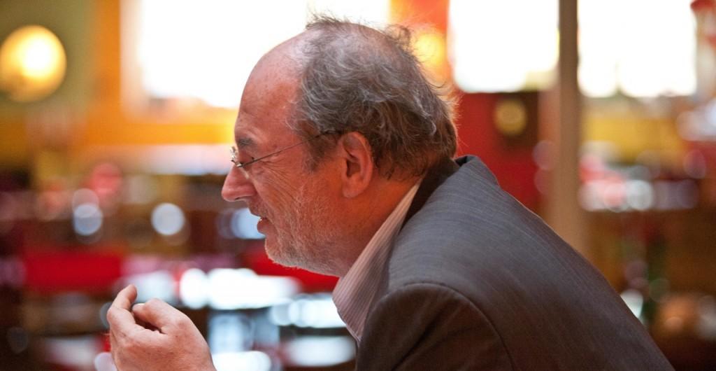 Prof Priddat hält Vorträge Diskussion Redner